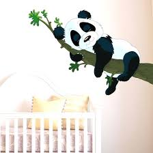 panda wall stickers sleeping panda wall sticker panda wall decal uk on panda wall art uk with panda wall stickers sleeping panda wall sticker panda wall decal uk