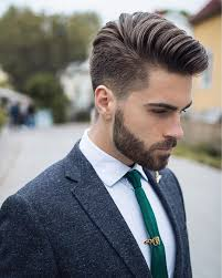 Beard And Hair Style Simple Yet Killing Sharp Look Pinterest Messy Hairstyles 6943 by wearticles.com