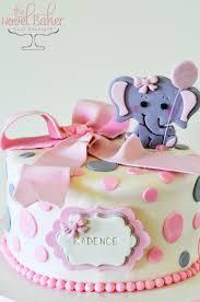 Elephant Themed Baby Shower For Girl
