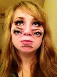 double face makeup
