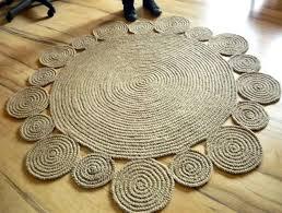 jute round rug australia