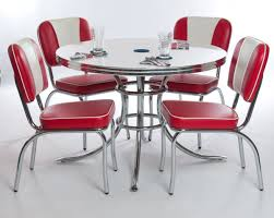 Dining Room  Amazing Metal Retro Minimalist Round Kitchen Table - Heavy duty dining room chairs