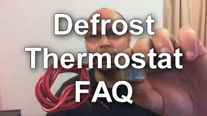defrost thermostat how to test and how they work