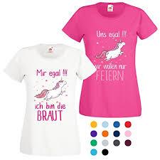 Damen T Shirt Jga Junggesellinnenabschied Braut Team Gruppen