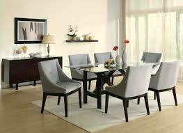 Modern Glass Dining Table Glass Dining Table Six Chairs Round Glass Dining Table For Six