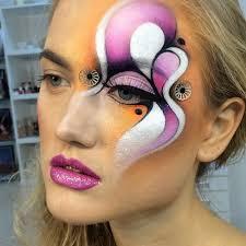 artistic make up fantasy make up makeup gallery unique makeup face art big eyes makeup painting art body painting