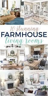 Gorgeous farmhouse living room decor design ideas Mattressxpress Number Is Just Gorgeous 10 Stunning Living Rooms With Farmhouse Decor The Turquoise Home Farmhouse Decor In 10 Stunningly Gorgeous Living Rooms