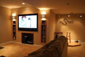 basement wall decor ideas best of accent images on geometric painting