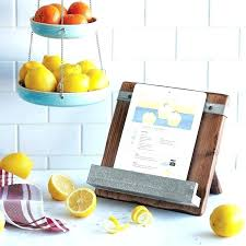 ikea bamboo tablet stand recipe book holder wrought iron kitchen accessories recipe book stand cookbook holder
