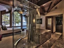 Contemporary Master Bathroom With Master Bathroom  High Ceiling - Contemporary master bathrooms