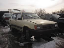 Junkyard Find: 1983 Toyota Tercel 4WD Wagon - The Truth About Cars