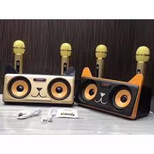 Loa karaoke bluetooth SD-305 Kèm 2 MIC
