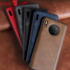Кожаный <b>чехол X-Level для Huawei</b> Mate 30 Pro, Мягкий ...