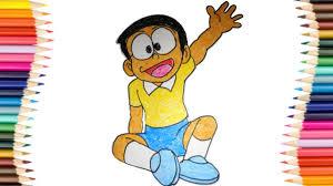 Nobita home trang mua sắm trực tuyến với những sản phẩm quần áo và phụ kiện thời trang nam. How To Colour Nobita Nobi Doraemon Nobita Colouring For Kids Youtube