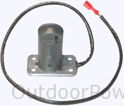 descriptions photos and diagrams of low oil shutdown systems on tecumseh low oil float switch 611303