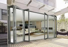 images of frameless aluminium sliding doors