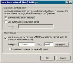 how do i use a proxy server
