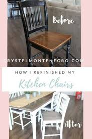 how i refinished my kitchen chairs kitchen chair