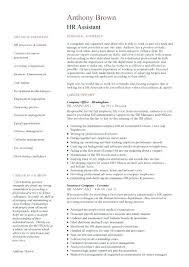 Sample Resume For Hr Assistant Best of Hr Administrative Assistant Resume Sample Francistan Template