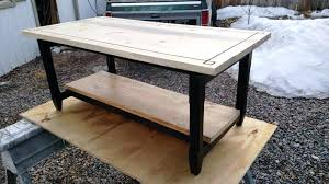 building coffee table image of building floating coffee table diy coffee table 4x4 legs diy pallet building coffee table