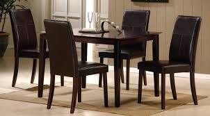 dining table chair set attractive black dining table and 4 chairs