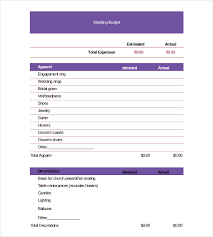 Budgeting For Wedding Wedding Budget Spreadsheet Excel To Save Your Money