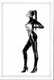 Fetish art black and white