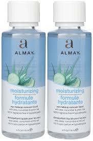 almay moisturizing eye makeup remover liquid 2 pk