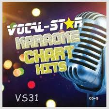 Cd Charts 2017 Vocal Star Karaoke Pop Chart Hits July Aug 2019 Cdg Cd G 18 Backing Tracks Vs31