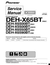 pioneer deh x65bt manuals pioneer deh x65bt service manual
