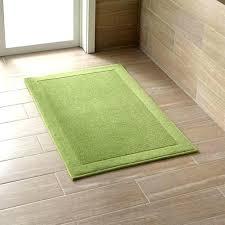 green bath rugs staggering shaped bathroom rug novelty subtly textured mat works in any dark green bath rugs