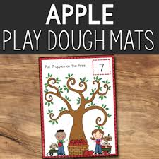 Apple Tree Pocket Chart Pre K Math Printables Prekinders