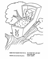 Small Picture Nursery Rhymes Coloring Pages GetColoringPagescom