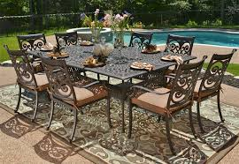 Patio Bar As Outdoor Patio Furniture With Awesome Cast Aluminum