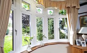 white knight upvc bay windows with fusion decorative glass