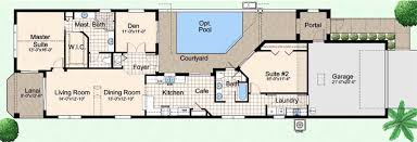home plans with courtyard in center beautiful courtyard pool home plans unique u shaped house plans