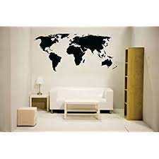 newclew nc mp 1 world map wall decal vinyl art sticker home decor  on wall decal vinyl art stickers decor with newclew nc mp 1 world map wall decal vinyl art sticker home decor
