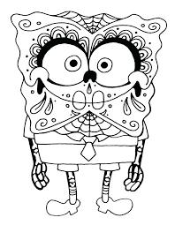 Coloring Pages For Adults Sugar Skulls Free Printable Sugar Skull