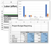 Project Budget Template Excel Fully Planned Project In 1