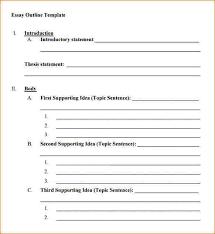 outline template online essay outline academic essay outline of a 8 blank outline template outline templates