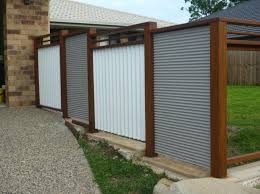 corrugated metal fences image of how to put up a corrugated metal fence diy wood framed