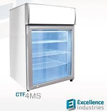 counter top freezer merchandiser 1 glass door