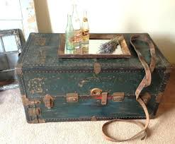 small steamer trunk coffee table home design and decor antiquechest ikea diy treasure chest tree image of sarreid brass tablediy into uk wood stump side