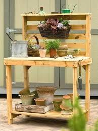 palettes en cool pour garden tables for plants