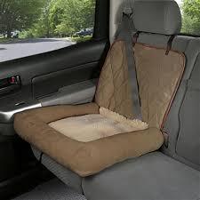 car cuddler dog seat cover brown