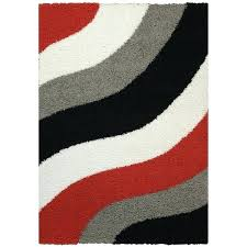 red and grey area rug home block striped waves red black white grey area rug red and grey area rug