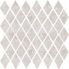 Florida Tile Caldera Diamond Mosaic Greywhite U0026 Stone