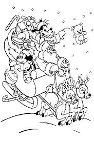 Small Picture Free Printable Disney Christmas Coloring Pages Perudecom