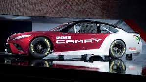 2018 toyota nascar. toyota unveils 2018 nascar camry at north american international auto show in detroit nascar