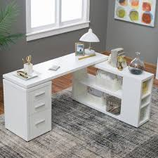 home office white desk. hudson lshaped desk white this u2013 provides a spacious workspace for your home or office surrounding you on two sides so